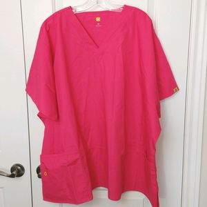 5x Pink Medical Uniform Shirt New with tags